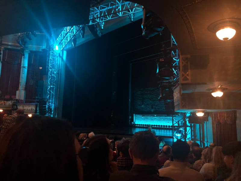Seating view for Broadhurst Theatre Section Orchestra R Row M Seat 26