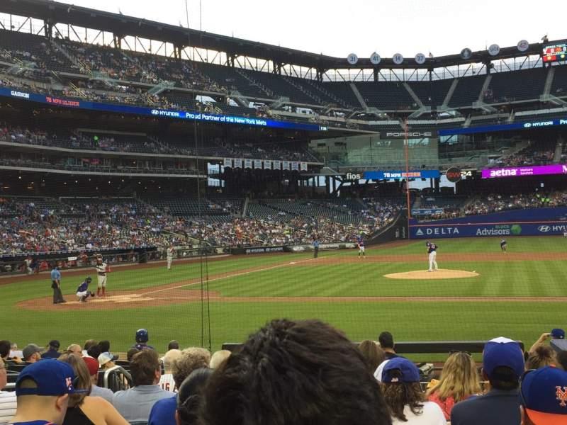 Citi Field, section: 114, row: 9, seat: 6
