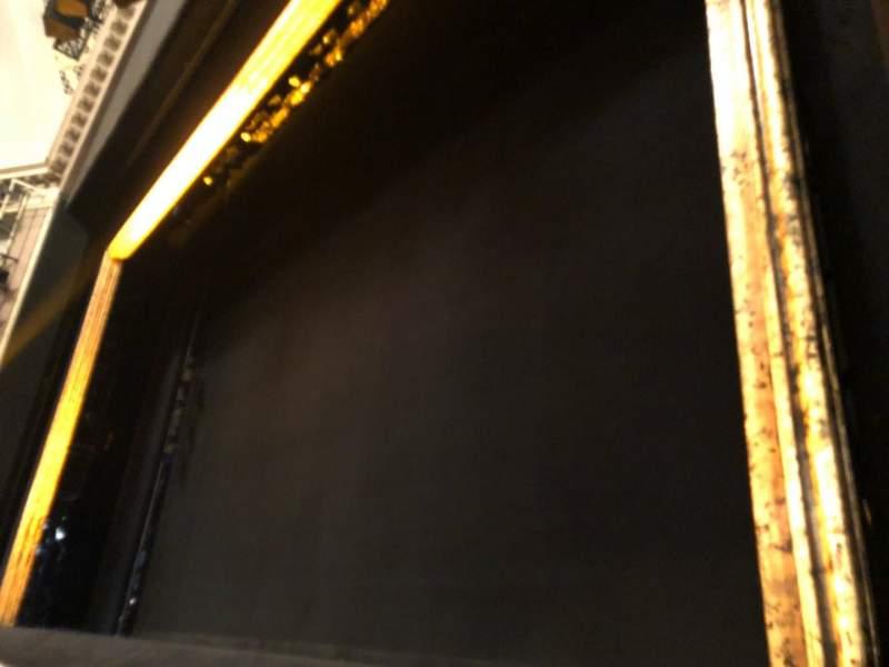 Ambassador Theatre, section: ORCHO, row: CC, seat: 10