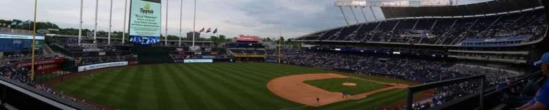 Seating view for Kauffman Stadium