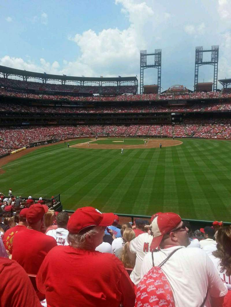 Seating view for Busch Stadium Section 509 Row 27 Seat 18