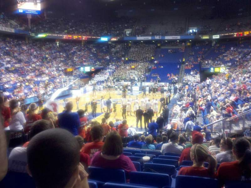 Seating view for Rupp Arena Section 38 Row uu Seat 3