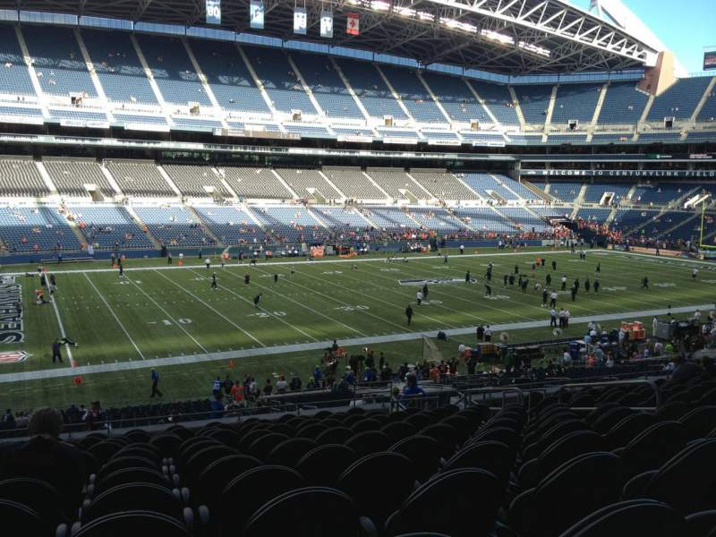 Seating view for Centurylink Field Section 239 Row N Seat 9