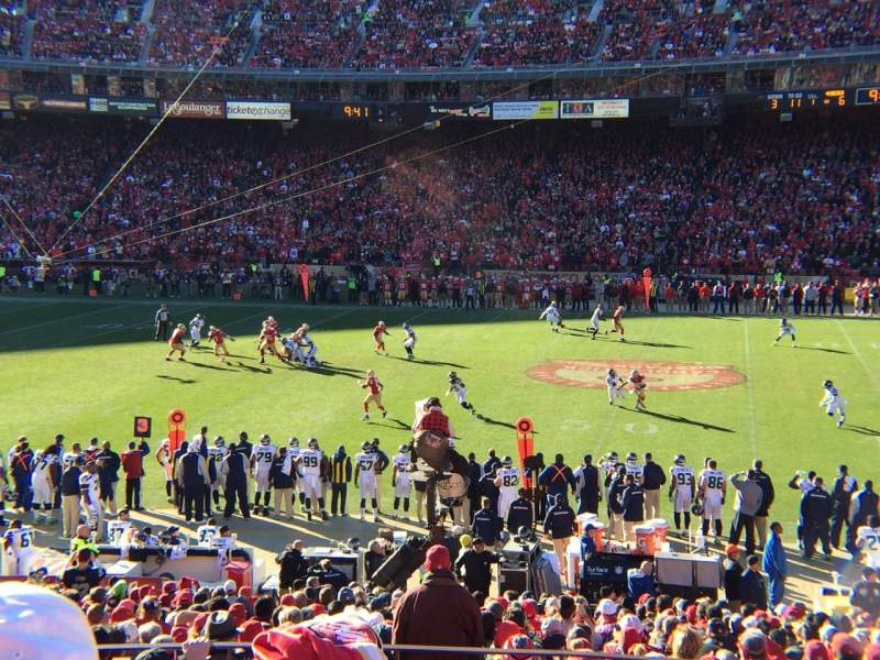 Seating view for Candlestick Park Section LE31 Row 27 Seat 11