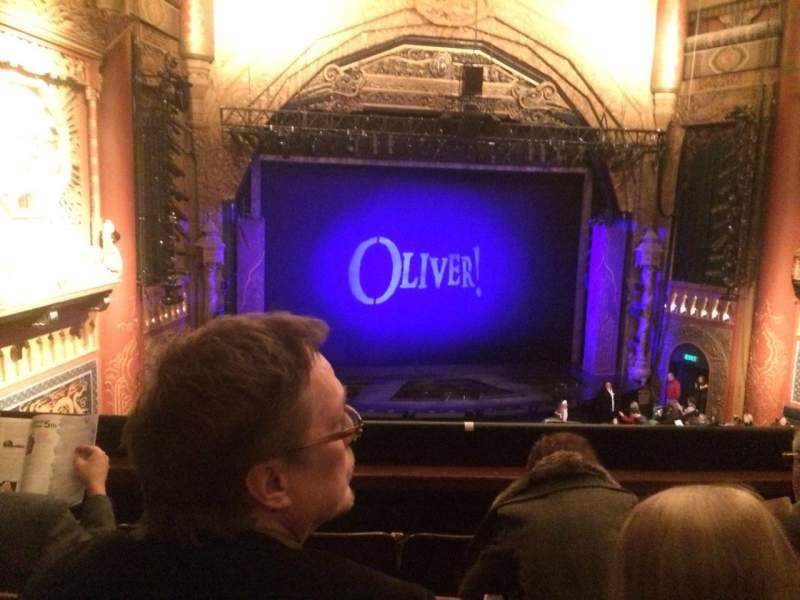 Seating view for 5th Avenue Theatre Section Pearl Grand Tier Row D Seat 7