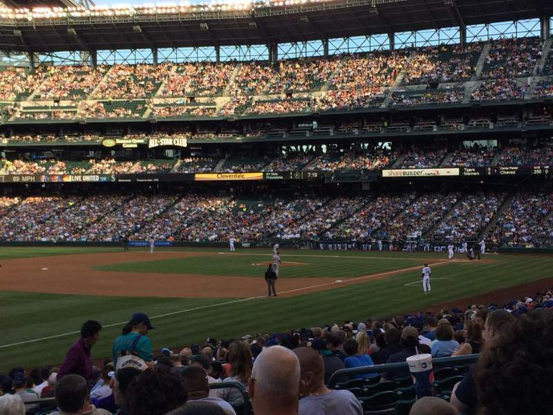Seating view for Safeco Field Section 146 Row 24 Seat 7