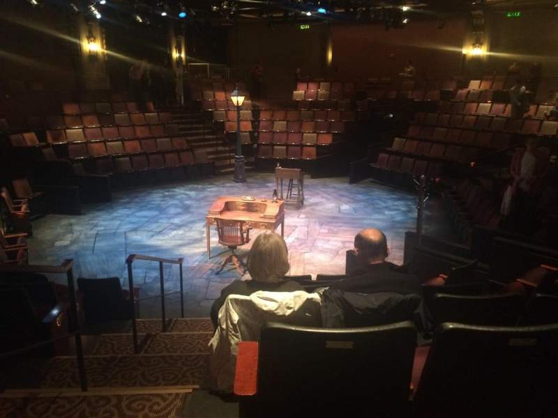 Seating view for ACT Theatre Section Aisle Row G Seat 2