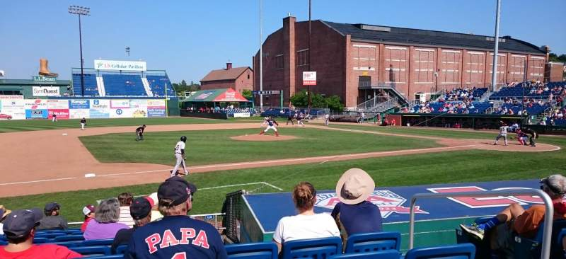 Seating view for Hadlock Field Section 112 Row L Seat 11