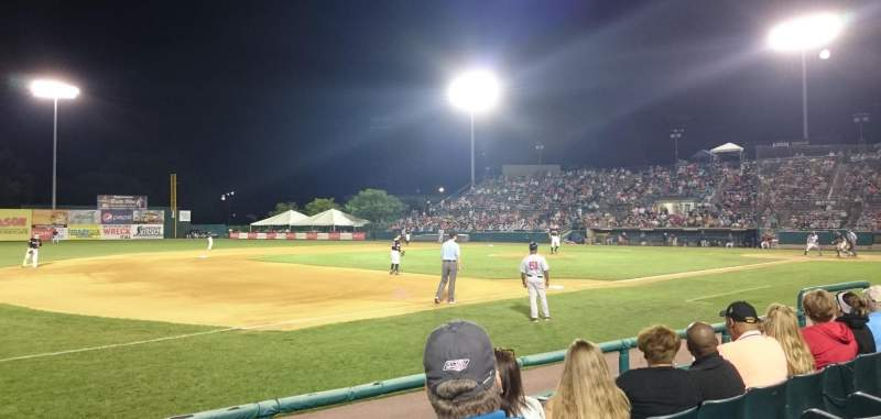 New Britain Stadium, section: 117, row: D, seat: 14