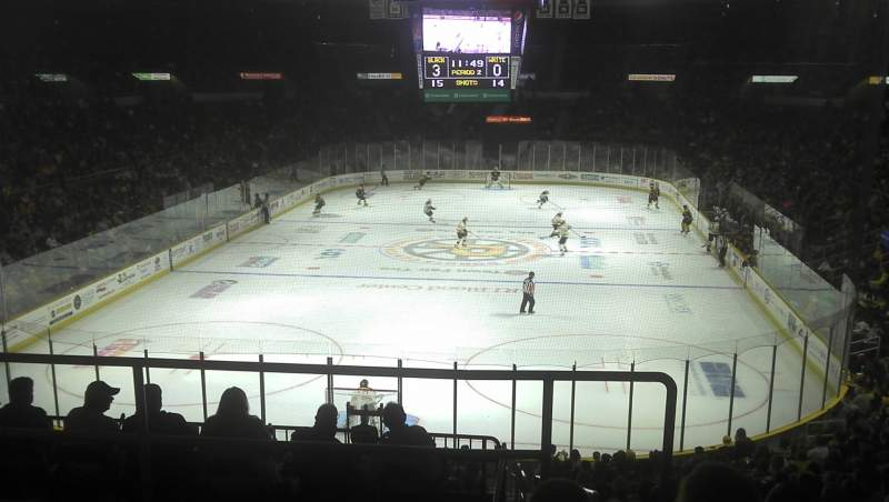 Seating view for Dunkin' Donuts Center Section 240 Row E Seat 11