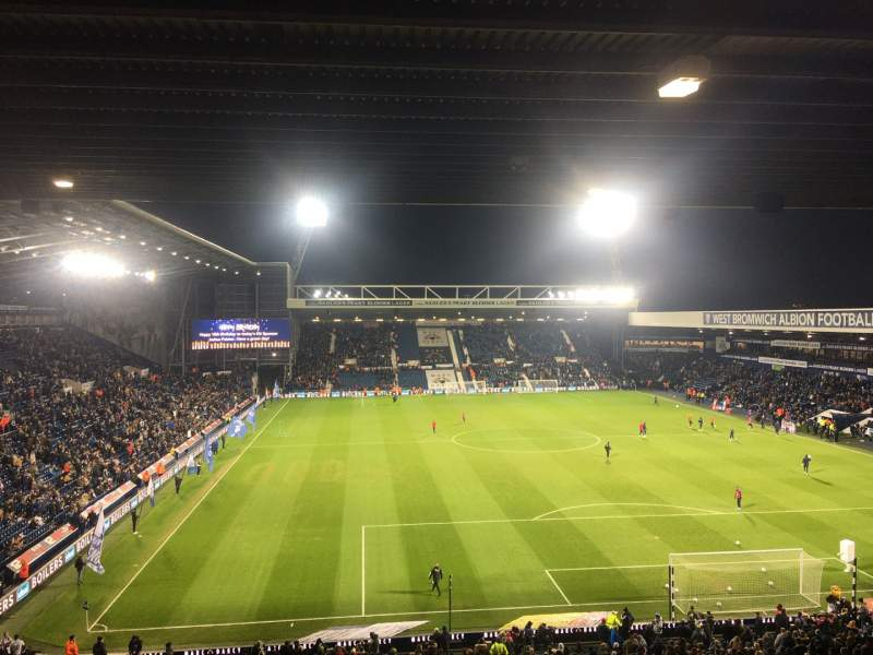 Seating view for The Hawthorns Section E7 Row VV Seat 165