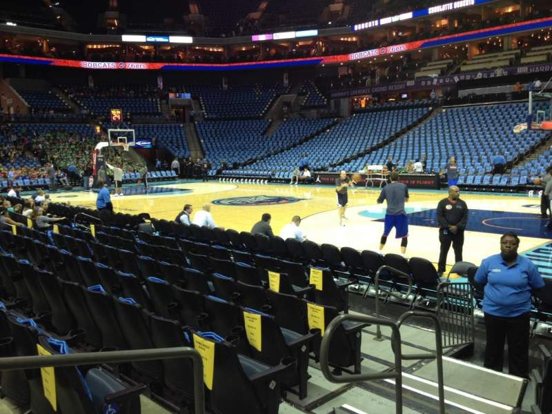 Seating view for Spectrum Center Section 112 Row E Seat 11