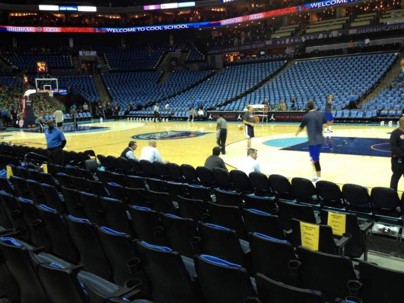 Seating view for Spectrum Center Section 113 Row D Seat 2