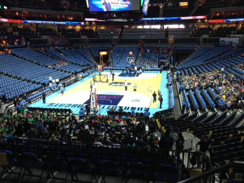 Seating view for Spectrum Center Section 117 Row W Seat 2