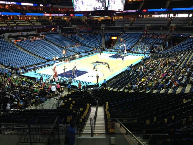 Seating view for Spectrum Center Section 116 Row AA Seat 35