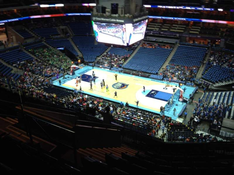 Seating view for Spectrum Center Section 223 Row L Seat 10