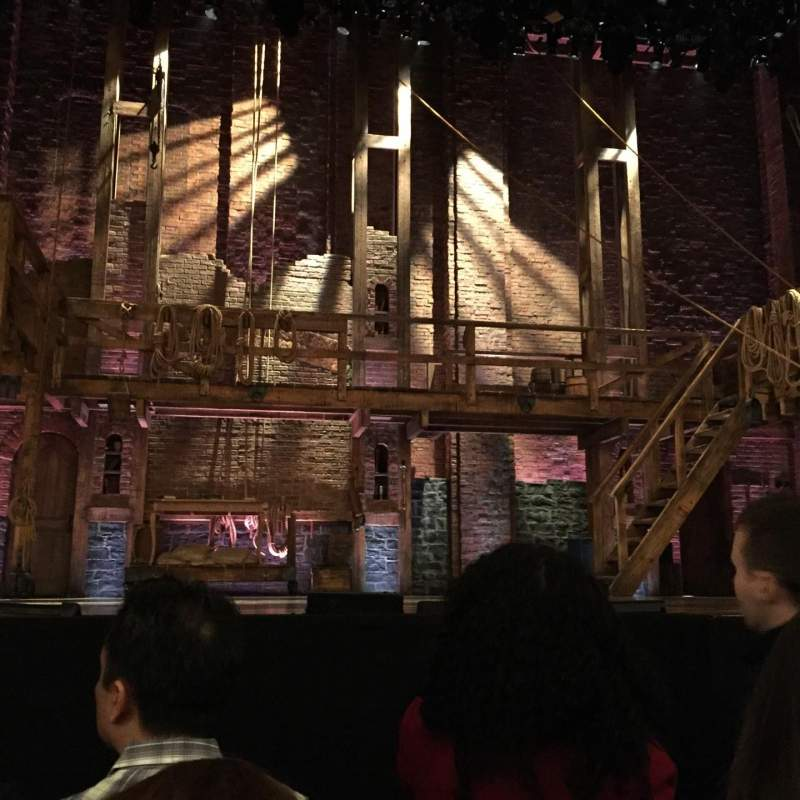 Seating view for Richard Rodgers Theatre Section Orchestra C Row E Seat 111