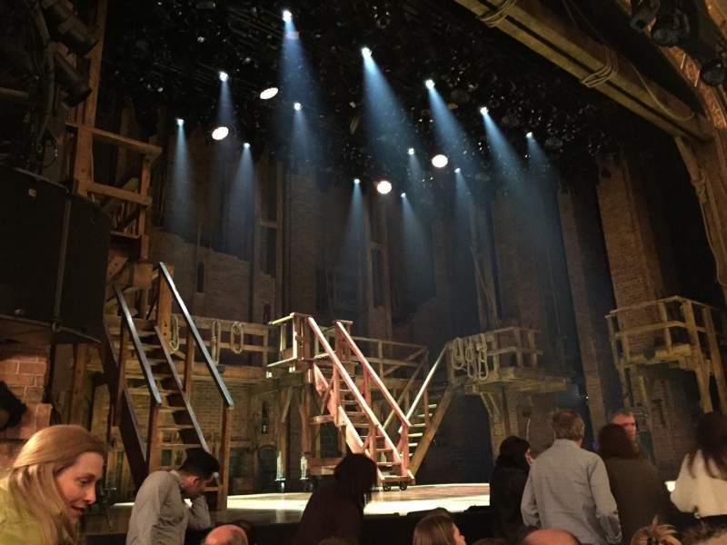 Seating view for Richard Rodgers Theatre Section Orchestra Left Row E Seat 13