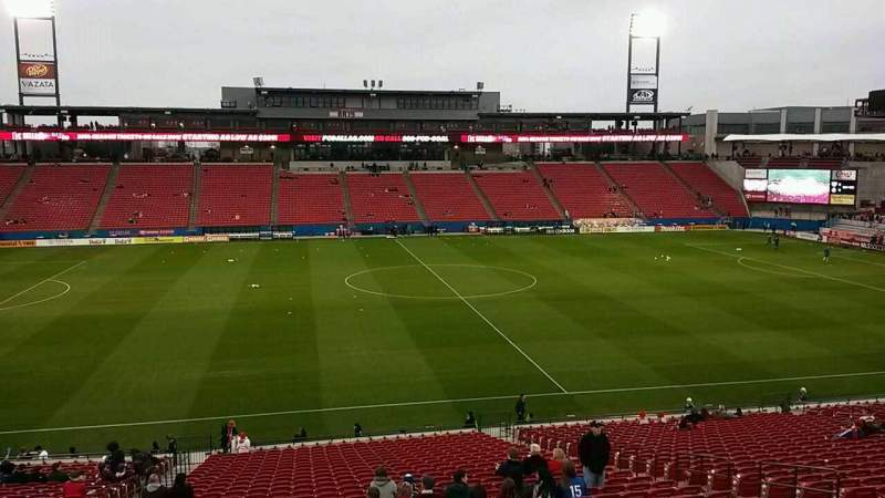 Seating view for Toyota Stadium Section 126 Row 31 Seat 6