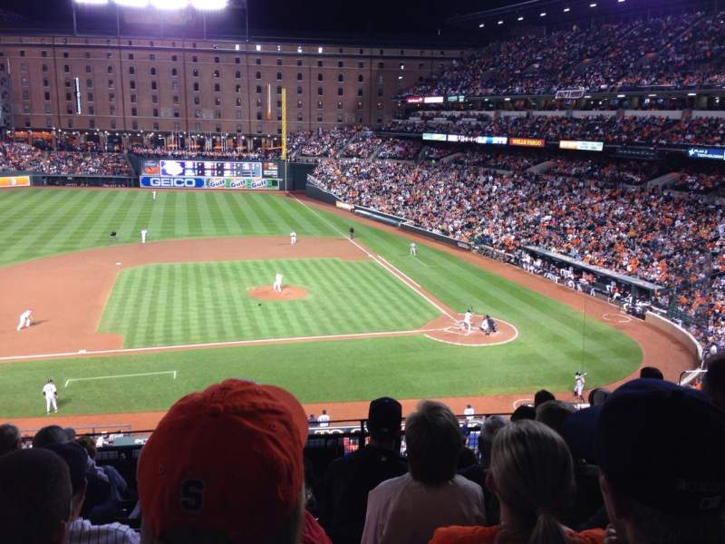 Seating view for Oriole Park at Camden Yards Section 248 Row 7 Seat 7