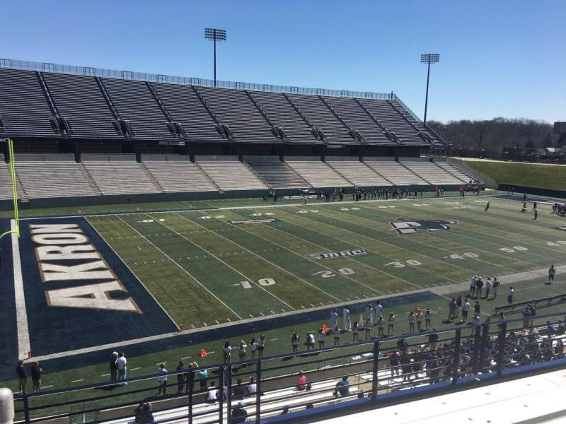 Seating view for Summa Field at InfoCision Stadium Section 202 Row 5 Seat 1