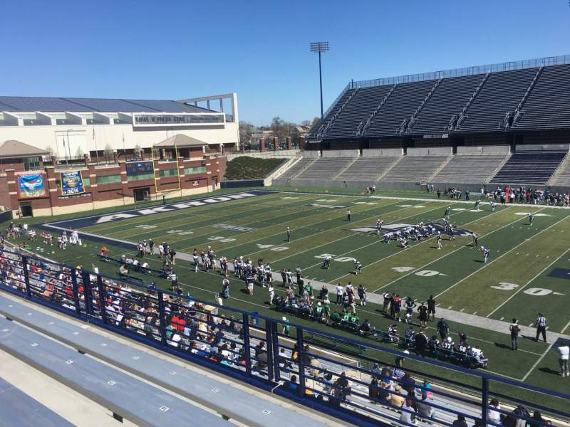 Seating view for Summa Field at InfoCision Stadium Section 214 Row 4 Seat 19