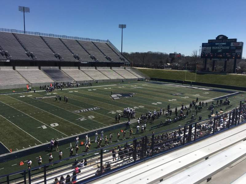 Seating view for Summa Field at InfoCision Stadium Section 202 Row 5 Seat 5