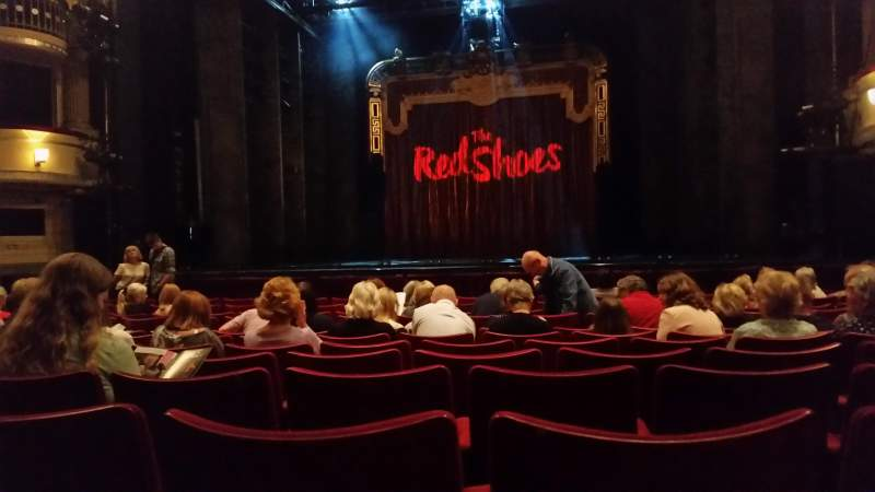 Seating view for Birmingham Hippodrome Section Stalls Row M Seat 19