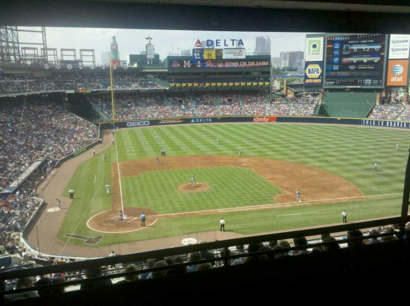 Seating view for Turner Field Section 307