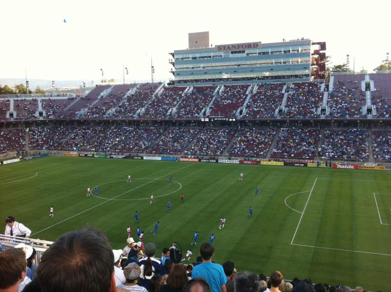 Stanford Stadium, section: 230, row: 12