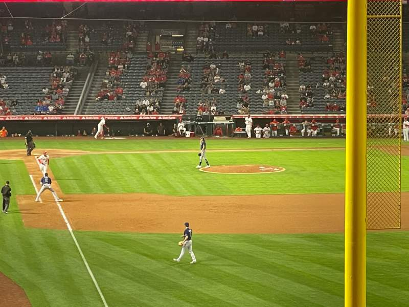 Seating view for Angel Stadium Section C350 Row AA Seat 2