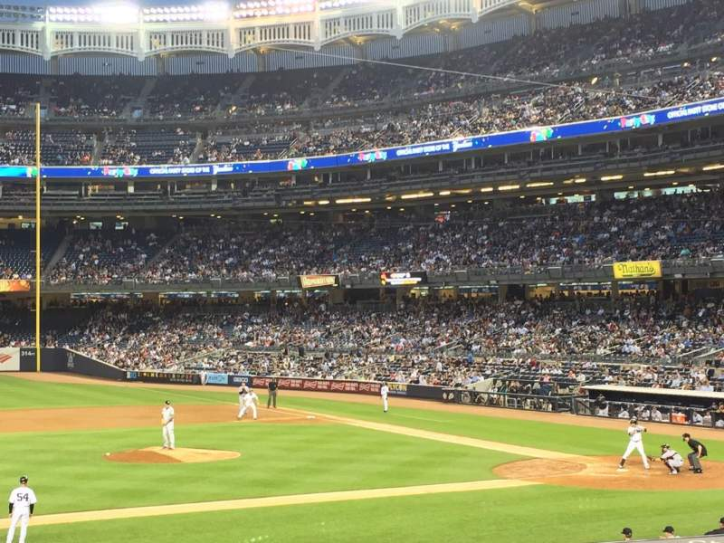 Seating view for Yankee Stadium Section 126 Row 25 Seat 4