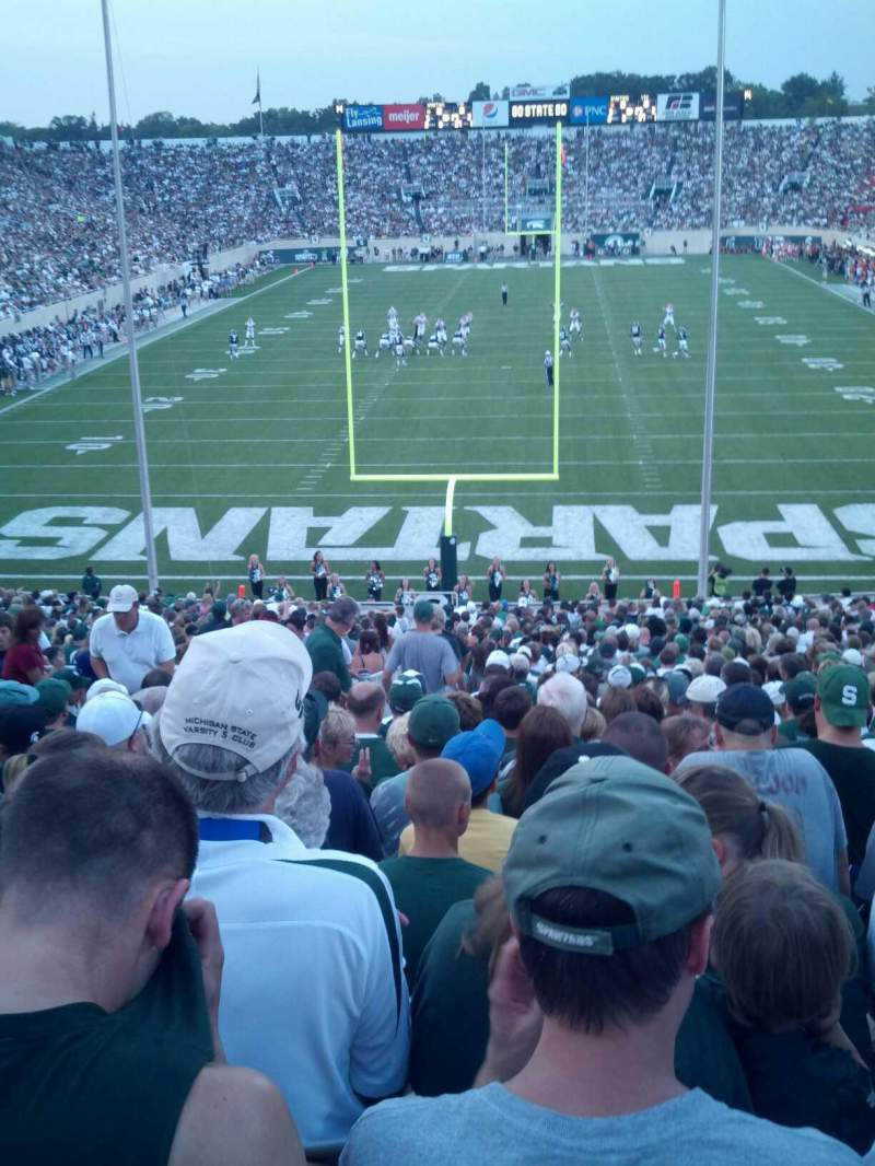 Seating view for Spartan Stadium Section 16 Row 41 Seat 35