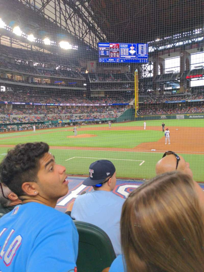 Seating view for Globe Life Park in Arlington Section 19 Row 5 Seat 18
