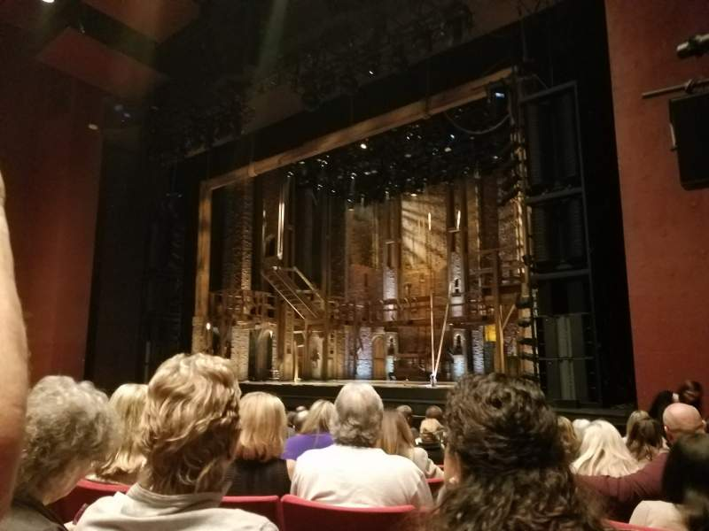 Seating view for San Diego Civic Theatre Section Orchestra R Row E or F Seat 30ish (even)