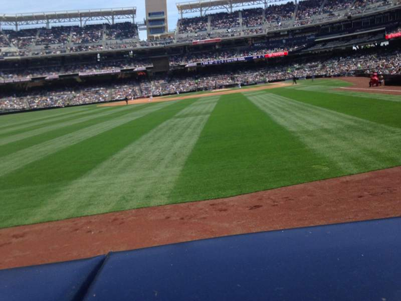 Seating view for PETCO Park Section 126 Row A Seat 15