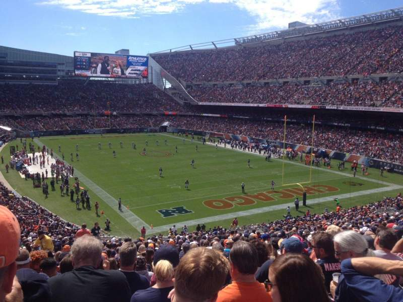 Seating view for Soldier Field Section 255 Row 24 Seat 7