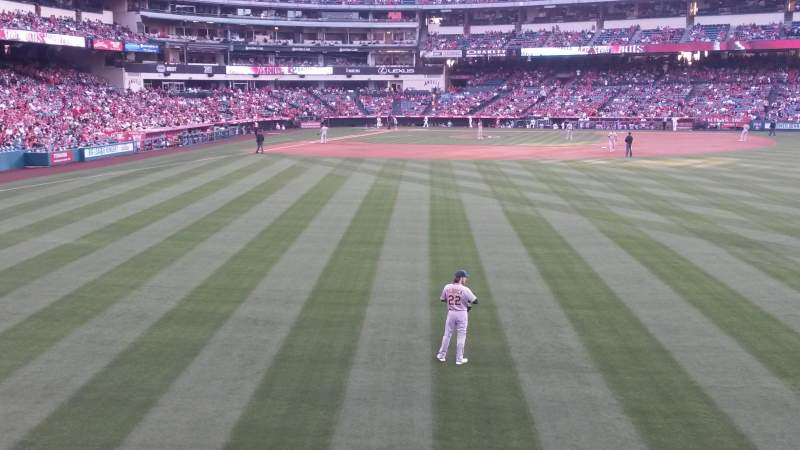 Seating view for Angel Stadium Section P237 Row A Seat 12