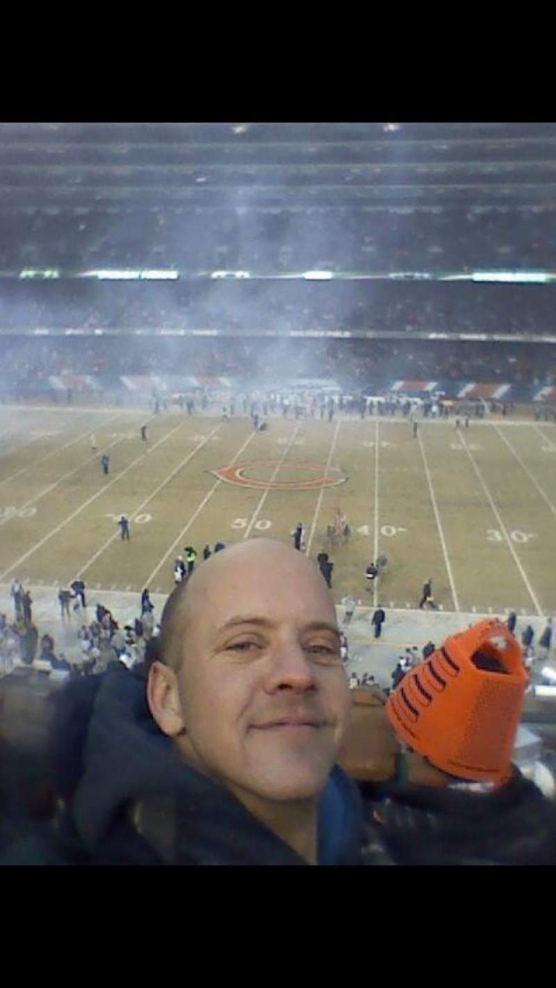 Seating view for soldier field Section 336 Row 8 Seat 16