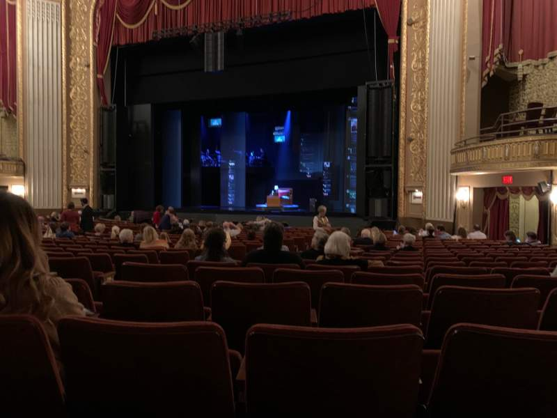 Seating view for Orpheum Theatre (Memphis) Section Orchestra R Row W Seat 13
