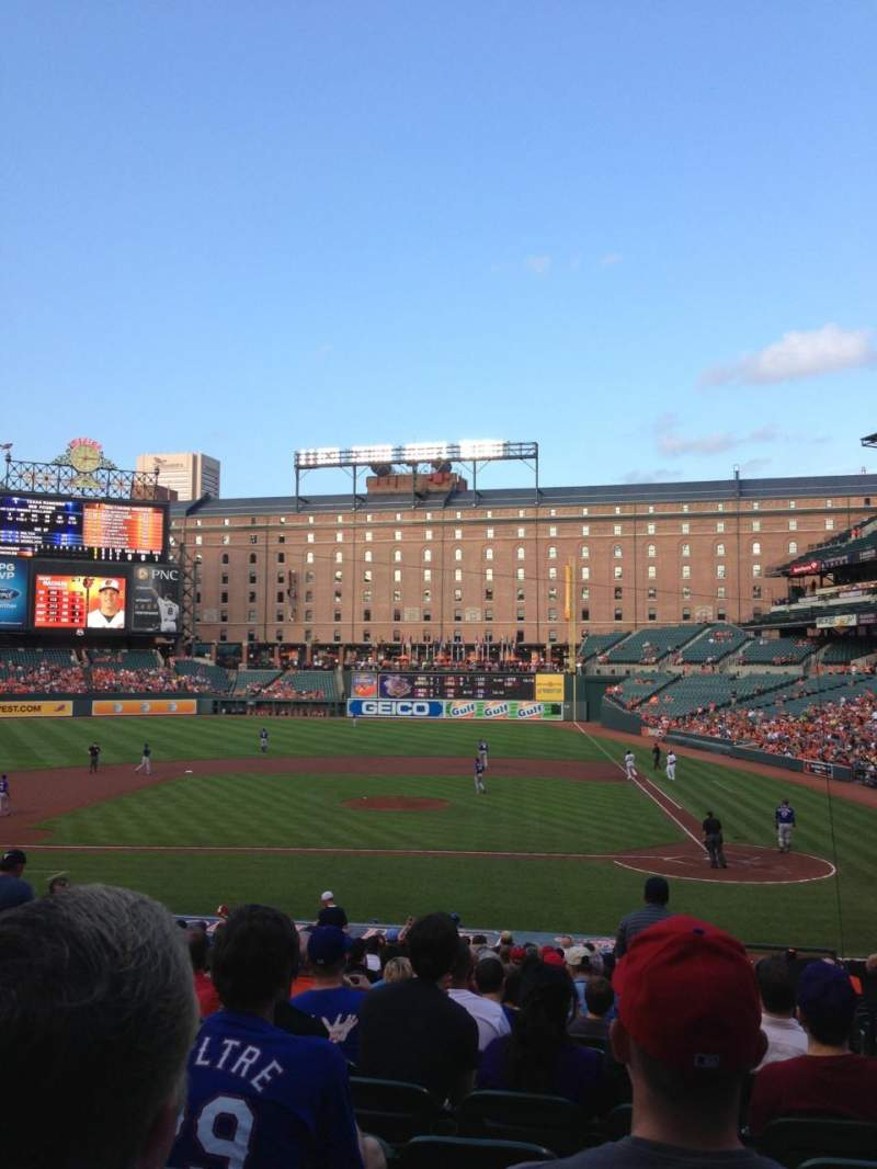 Seating view for Oriole Park at Camden Yards Section 48 Row 24 Seat 2