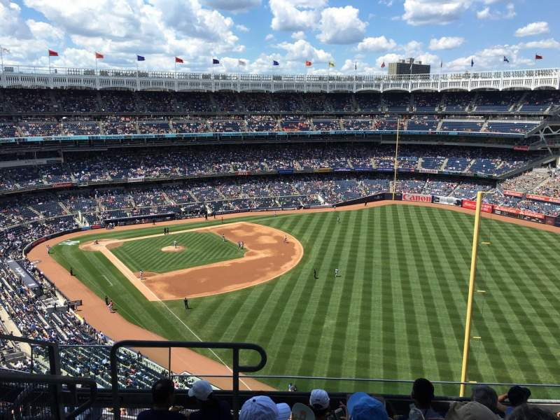 Seating view for Yankee Stadium Section 408 Row 6 Seat 26
