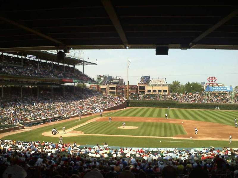 Seating view for Wrigley Field Section 228 Row 15 Seat 14