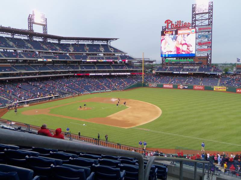 Seating view for Citizens Bank Park Section 211 Row 7