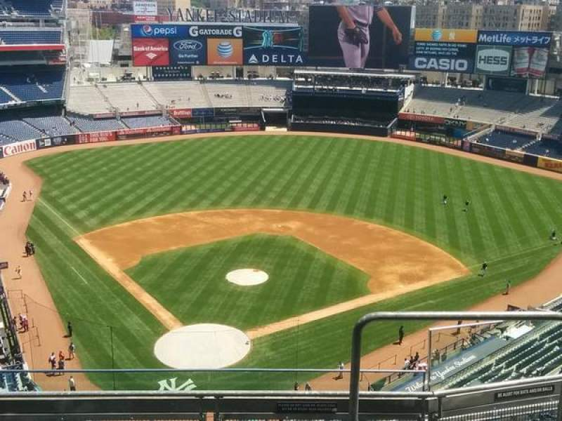 Seating view for Yankee Stadium Section 420A Row 5 Seat 2