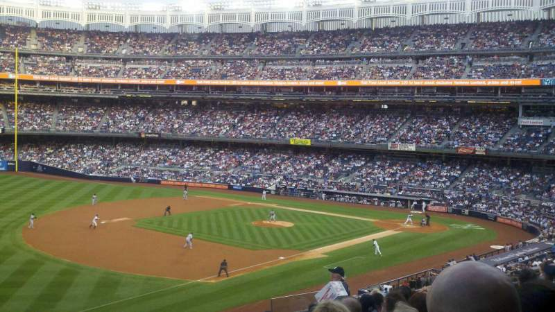 Seating view for Yankee Stadium Section 228 Row 11 Seat 13