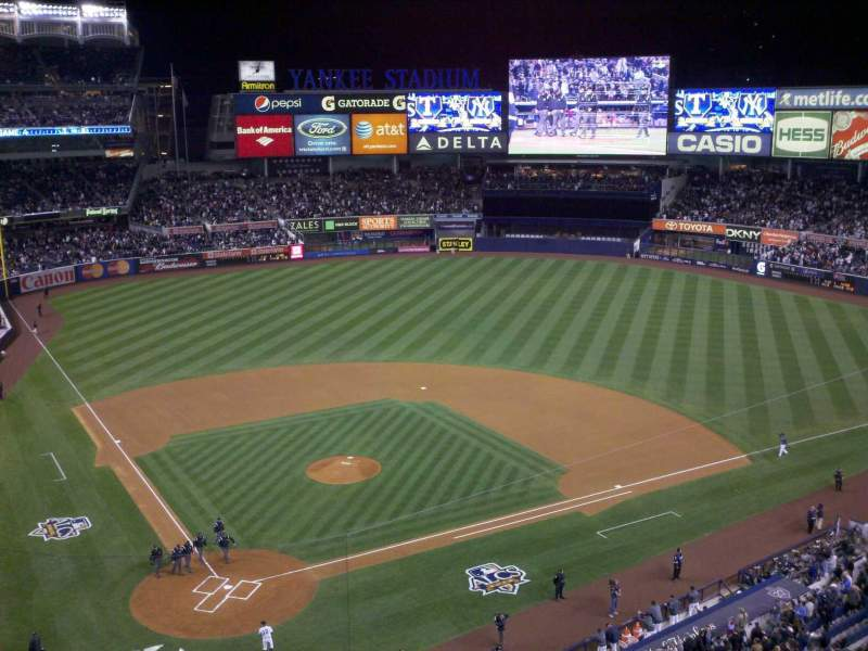 Seating view for Yankee Stadium Section 319 Row 4 Seat 8