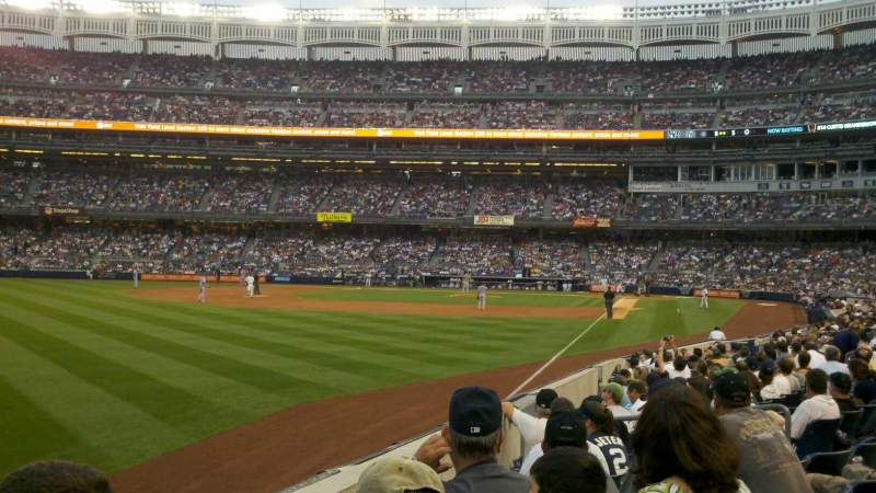 Seating view for Yankee Stadium Section 131 Row 13 Seat 14