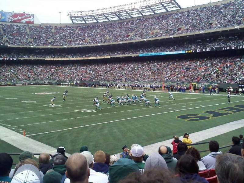 Seating view for MetLife Stadium Section 124 Row 8 Seat 9