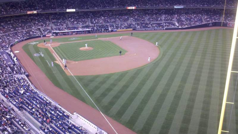 Seating view for Yankee Stadium Section 408 Row 1 Seat 6